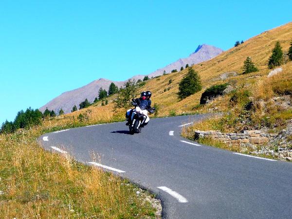 Voyage moto dans les Alpes
